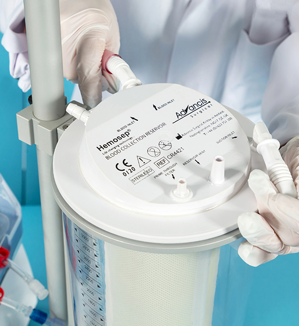 intraoperative blood salvage cell saver